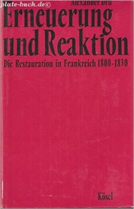 Erneuerung und Reaktion 1800-1830