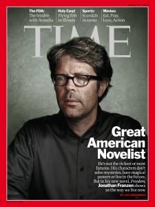 Nach zehn Jahren erscheint das renommierte amerikanische Nachrichtenmagazin ´Time Magazineª jetzt das erste Mal wieder mit einem Literaten auf dem Titel. Jonathan Franzen werde in der nâ°chsten Woche die Hauptgeschichte gewidmet sein, wie der Verlag am Freitag in New York mitteilte. Zuletzt war 2000 Stephen King auf dem Titel. Franzen, der Autor von ´Die Korrekturenª, wird am 17. August 51 Jahre alt. In der Titelgeschichte geht es jedoch um f¸nf B¸cher anderer Autoren, die den New Yorker inspiriert haben. Foto: Time Magazine HO +++(c) dpa - Bildfunk+++